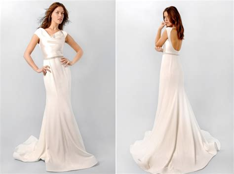 Cowl Neck Wedding Dress – Cowl Neck beach wedding dress   Seashells & Wedding Bells
