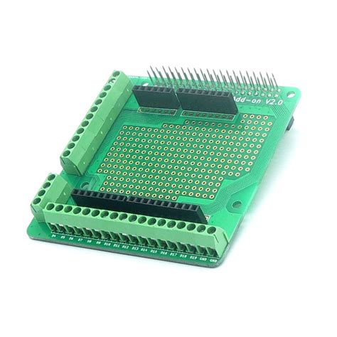 Raspberry Pi 20pin Connector Prototype Board Add On V20 raspberry pi screws prototype add on v2 0 shield board