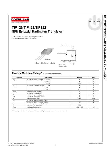 tip datasheet