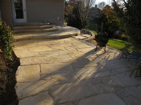 Limestone Patios by Flagstone Patio Limestone Yelp
