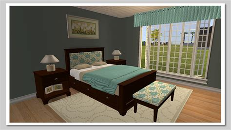 sims 2 bedroom sets mod the sims pottery barn cynthia bedroom