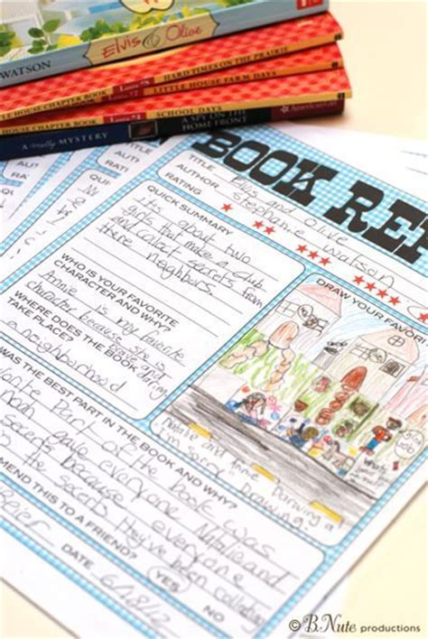 How To Start A College Level Book Report by Printable Book Report Forms For 2nd Grade Free 1st Grade