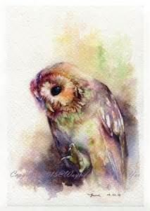 water color owl 1000 ideas about watercolor owl tattoos on
