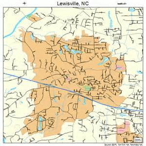 lewisville carolina map 3738040