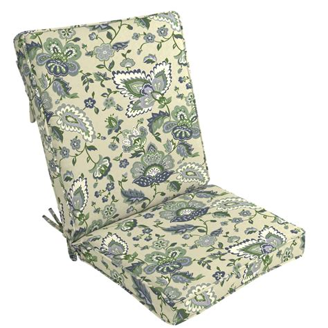Jaclyn Smith Patio High Back Chair Cushion   Nathan