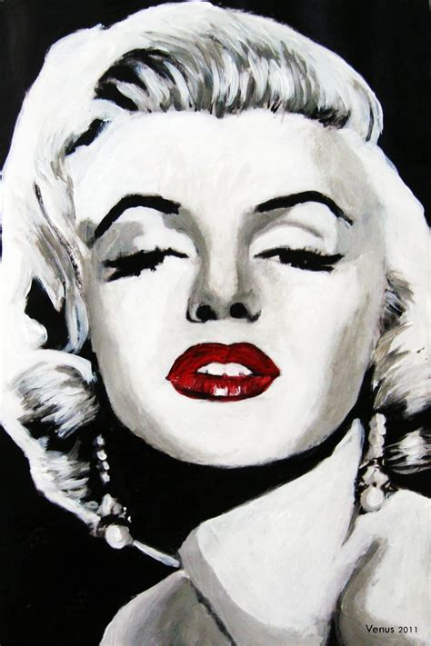 marilyn monroe art quot marilyn monroe quot pop art painting by venus 11 x 8 acrylic