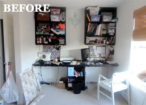 service housebeautiful com before and after home office home organizing ideas