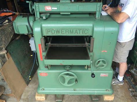photo index powermatic machine