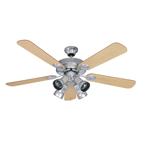 ceiling fan with spotlights shop litex 52 in spotlight ceiling fan brushed pewter at
