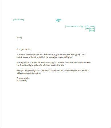 personal letterhead template personal letterhead sles free printable letterhead