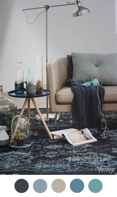 Interieur Blauw Grijs by Vintage Vintage Inrichting Mooie Kleuren Voor In Het