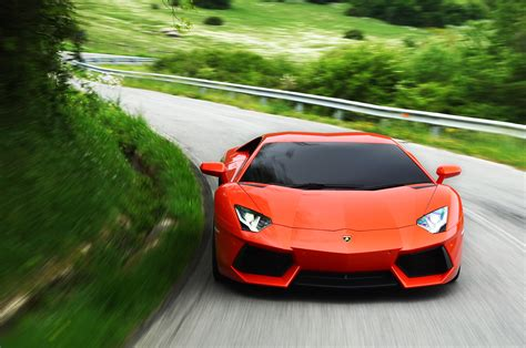 Lamborghini Aventador Power Autoblog Drives The Aventador Lambo Power