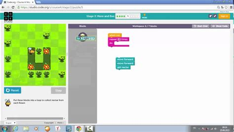 coding answers level 6 code org learn programming maze and bee