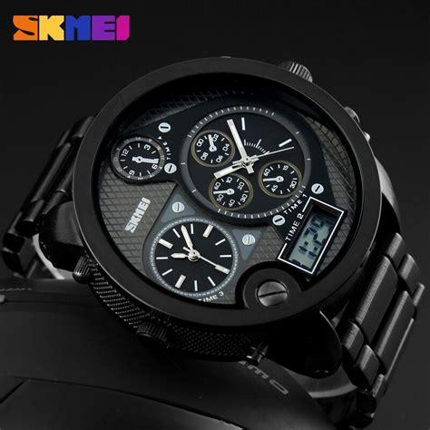 Skmei Jam Tangan Pria Digital 3 skmei jam tangan digital analog jumbo pria ad1170