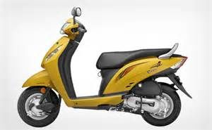 Booking Honda Activa New Honda Activa 110cc Launched In India Models Picture