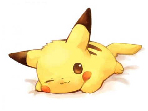 imagenes kawaiis de pikachu pokemon cute kawaii resources