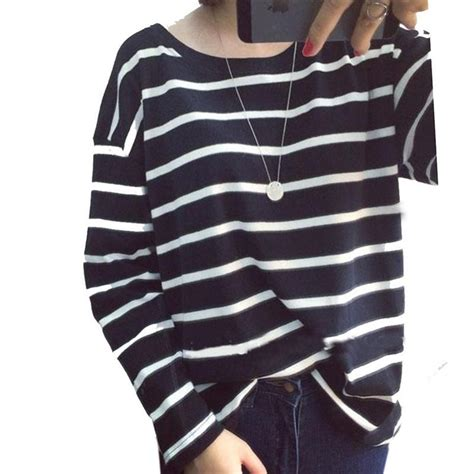 Ae Bw Striped Hoodie T3010 autumn fashion hoody strips casual