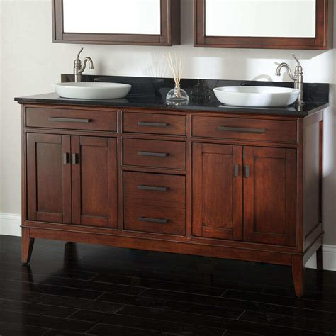 double bathroom vanity 60 how rough 60 vanity double sink the homy design