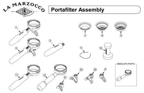 La Marzocco Portafilter   Drawing G   Espressocare