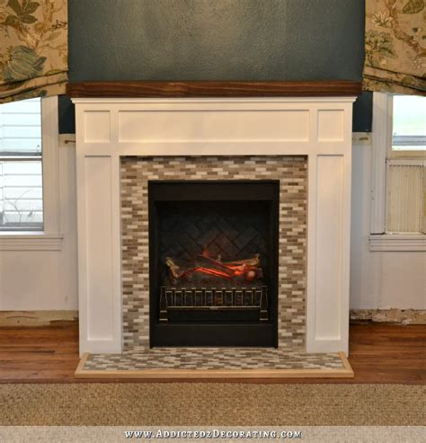 wood trim around fireplace fireplace makeover from craftsman to traditional