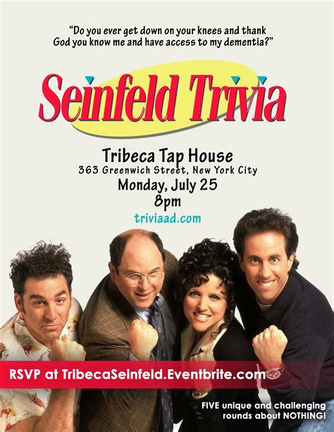 tap house nyc seinfeld trivia at tribeca tap house murphguide nyc bar guide