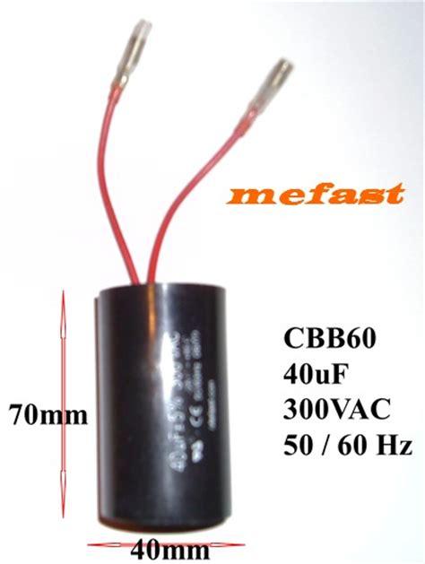 40 Uf Capacitor by Cbb60 300vac 40uf Capacitor Truelife Generator Parts
