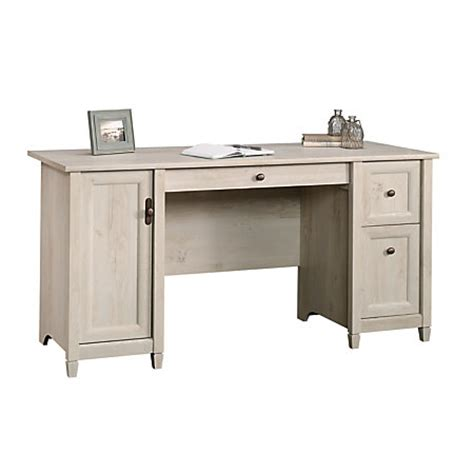 Sauder Edge Water Desk by Sauder Edge Water Computer Desk Chalked Chestnut By Office