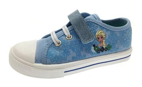 Flat Shoes Character Frozen frozen elsa plimsolls skate pumps trainers