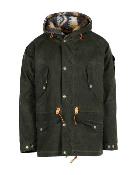 pendleton jacket  green  men lyst