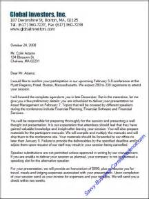 page business letter
