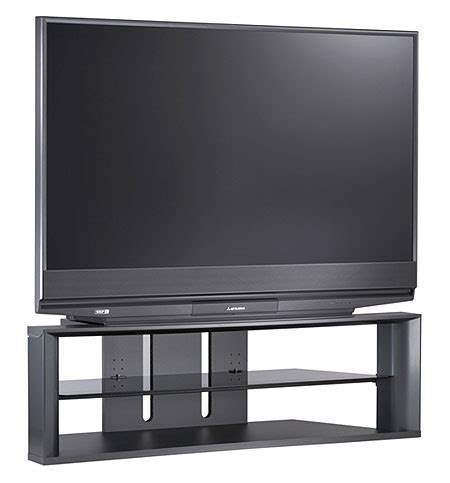 Mitsubishi Tv 1080p Mitsubishi Wd 57731 Dlp Rear Projection Tv Sound Vision