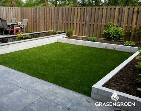 Tuin En Gras by Kunstgras In Uw Tuin Door Gras En Groen