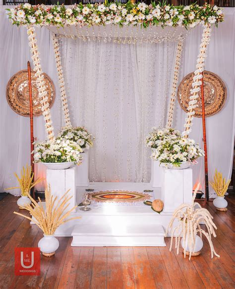 wedding poruwa sri lanka wedding decors wedding