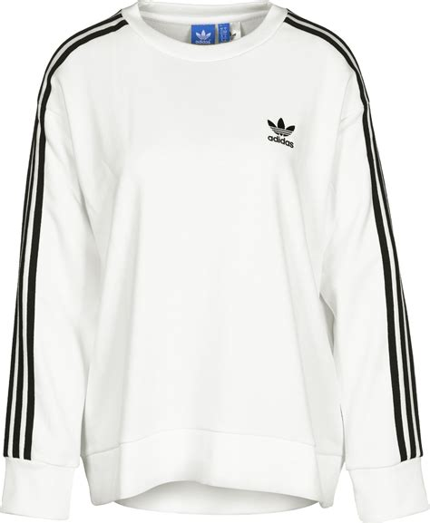 Sweater Adidas 3 Colors adidas 3 stripes a line w sweater white