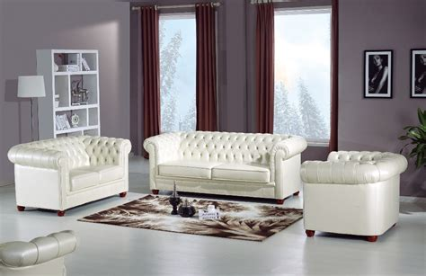 Room Sofa 2015 New Arrival Genuine Leather Chesterfield Sofa