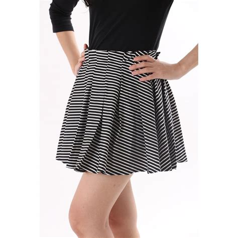 korean favourite skirt mini a line pleated skirt