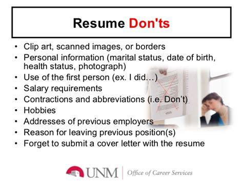 preparation of resume ppt krida info