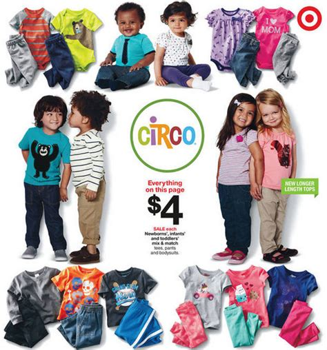 circo infant toddler clothing only 3 40 at target