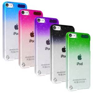 ipod 6 colors details about ultra slim clear raindrop