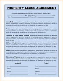 Lease Agreement Letter Template by Premium Property Lease Agreement Template Sle By Langkunxg Vlashed