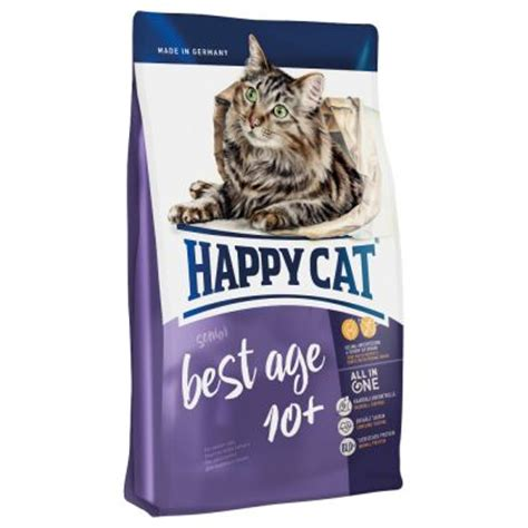best senior food cat food happy cat supreme best age 10 at zooplus