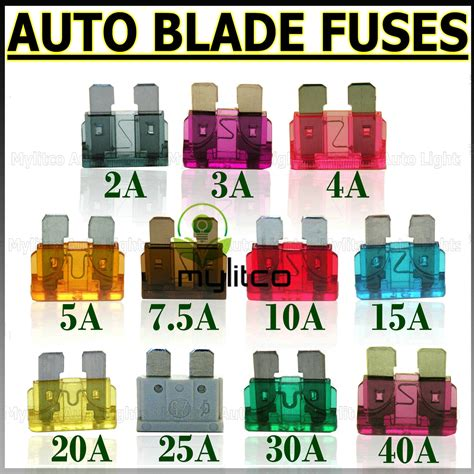 Car Types Of Fuses by Blade Auto Fuses Images Blade Free Engine Image For User