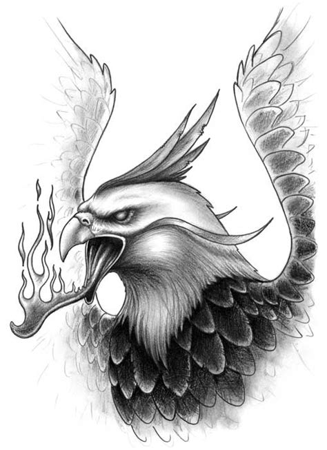 tattoo design the phoenix ideatattoo