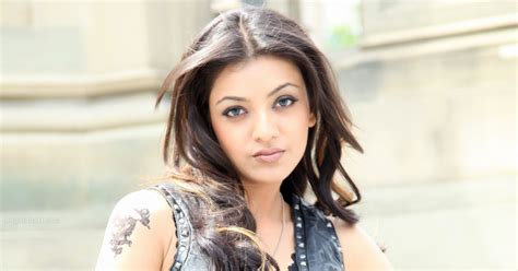 kajal agarwal tattoo on neck kajal agarwal sexy hot seduction with rose tattoo on her
