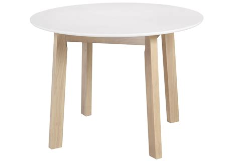 Dining Table Canada Whi Kokia Dining Table White 201 158rnd Wt Modern Furniture Canada