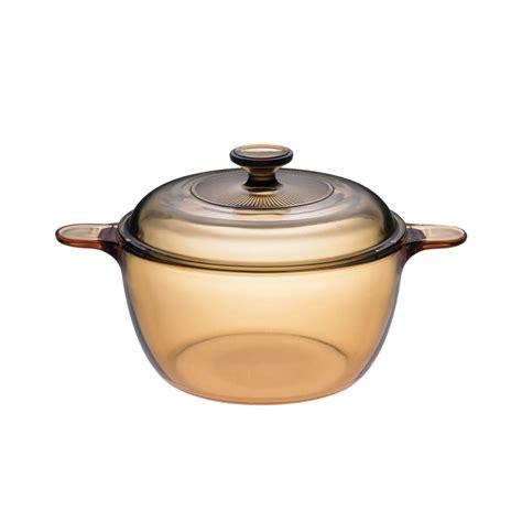 hoya de cocinar olla de cristal visions capacidad 2 5 litros
