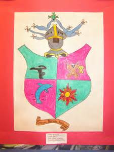 coat of arms template for students dish coat of arms