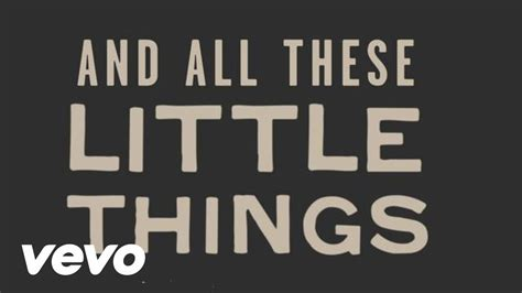 little things one direction little things lyric video youtube