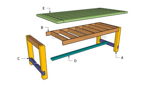 build a table harvest table plans howtospecialist how to build step