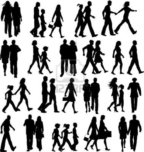 template karikatur photoshop people silhouettes data pinterest silhouettes